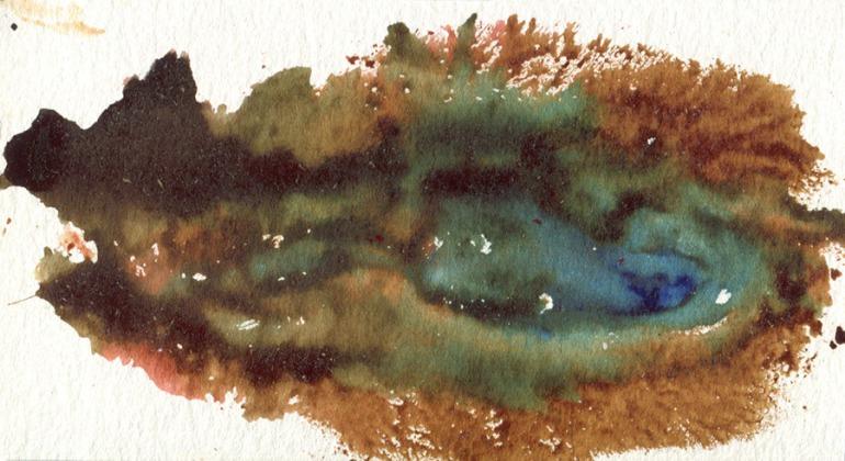 The River: vulva print by TynanRhea.com