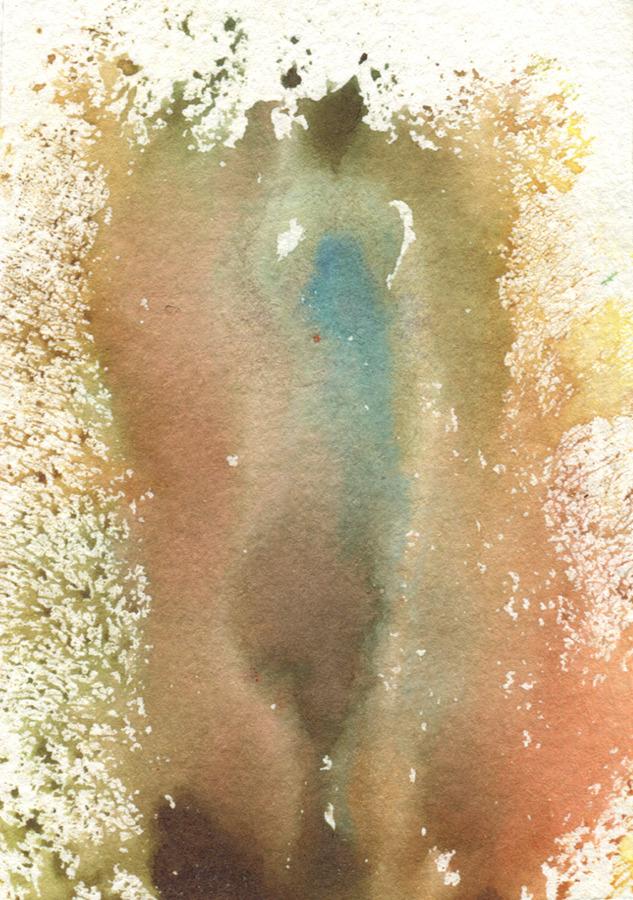 Little Universe: vulva print by TynanRhea.com