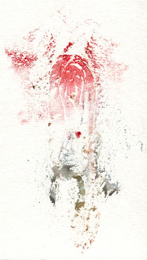 Whispering Ghosts: vulva prints by TynanRhea.com